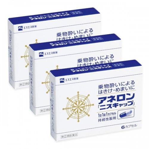 아네론 멀미약 6캡슐 3개세트