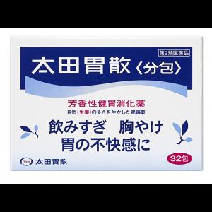 오타이산 가루약 32포, 일본 소화제