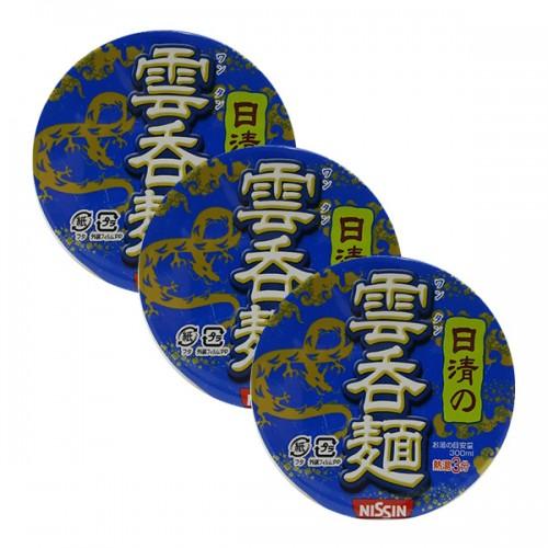 닛신 청일 완탕 컵라면 (3개 세트)