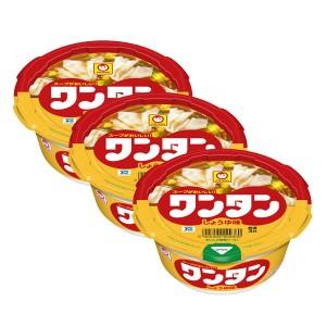 마루짱 완탕 컵만두 간장맛 (3개 세트)