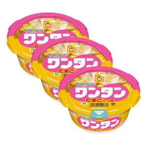 마루짱 완탕 컵만두 계란 국물맛 (3개 세트)
