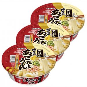 스가키야 명인 하카타 컵우동 (3개세트)