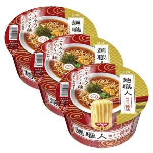 닛신 면장인 간장라멘 (3개 세트)