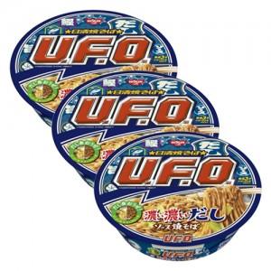 닛신 청일 UFO 진한 국물소스 야끼소바 (3개 세트)