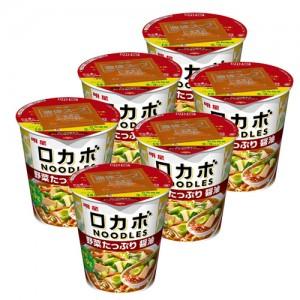 묘조식품 로카보누들 채소듬뿍 소유라멘 (6개 세트)