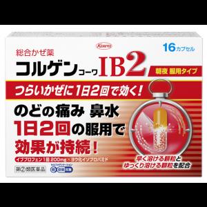 쿠루코와 IB2 감기약 16캡슐