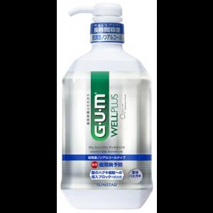 GUM 저자극 무알콜 구강 가글 900ml
