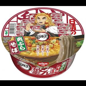 (한정) 닛신 돈부리 튀김소바 귀멸의칼날 콜라보 12개세트
